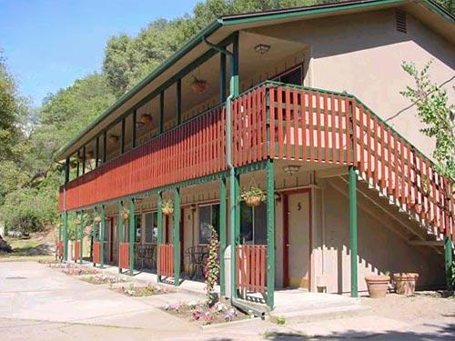 Das Motel beim Sequoia Nationalpark