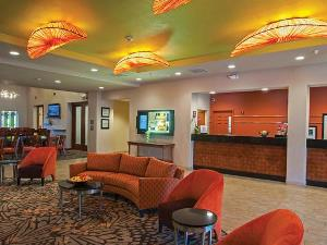 Lobby des Motels in Las Vegas