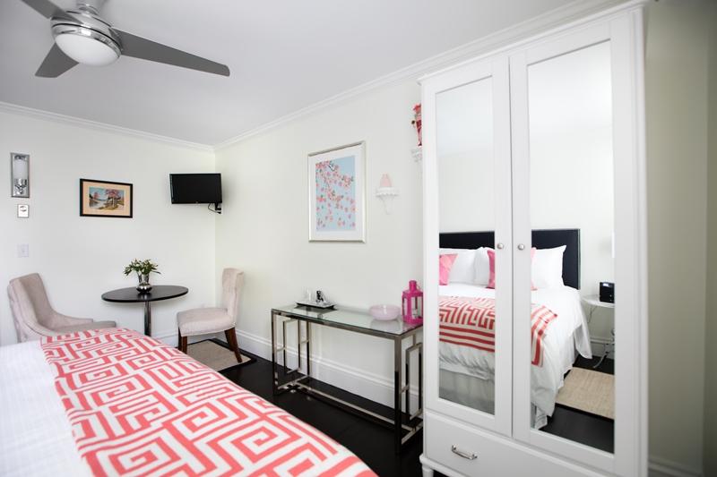 Schlafzimmer der Unterkunft