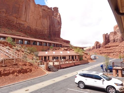 Unterkunft inmitten des Monument Valley