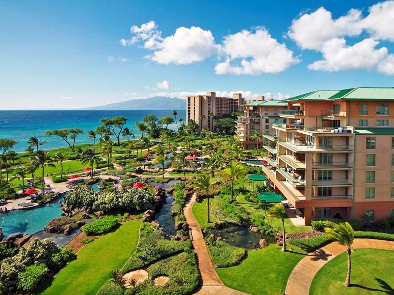 Komforthotel direkt am Strand auf Maui