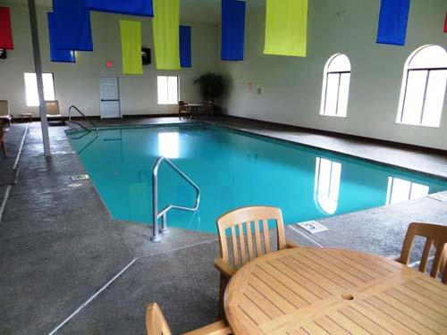 Hotelpool in Custer